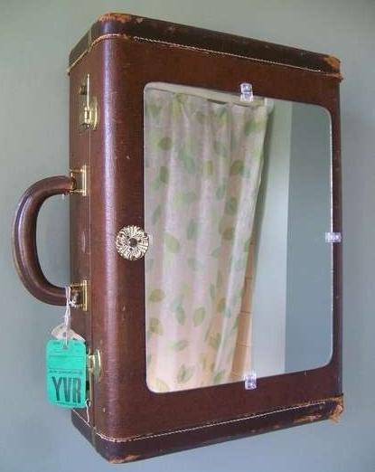 Salle de bain de bonnes id es rangement for Miroir salle de bain rangement