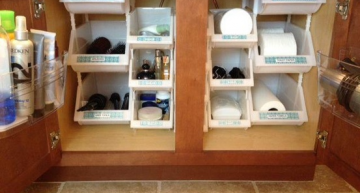 Salle de bain: De bonnes idées rangement!