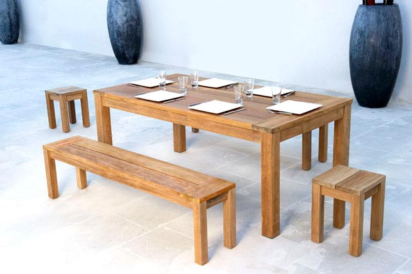 Comment donner un style industriel votre d coration for Table exterieur industriel
