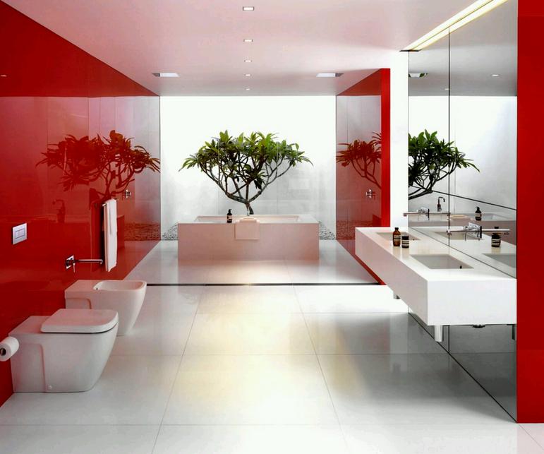 rouge-couleurs-vives-idees-decor-grande-salle-de-bain-meubles-quebec-canada