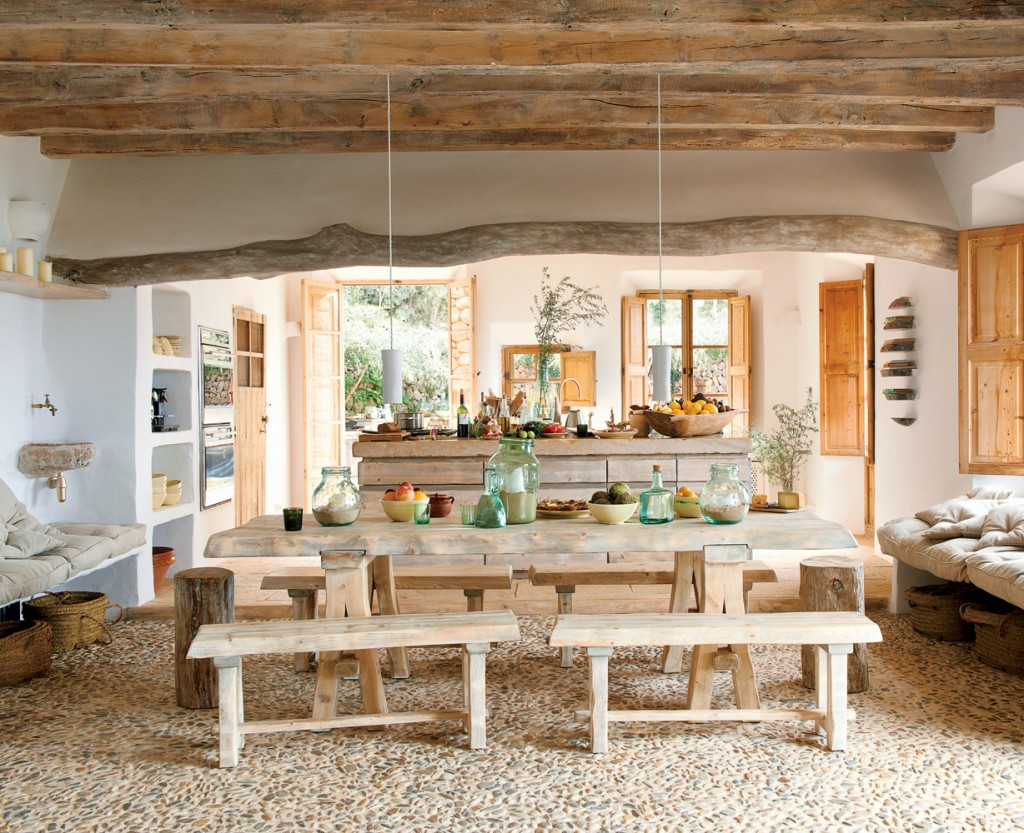 Comment donner un style champ tre rustique ou campagne for Decoration maison solde