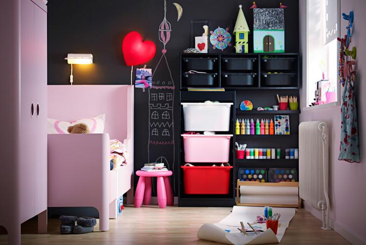 Chambre d 39 enfant trucs et astuces pour un rangement for Astuces de rangement maison