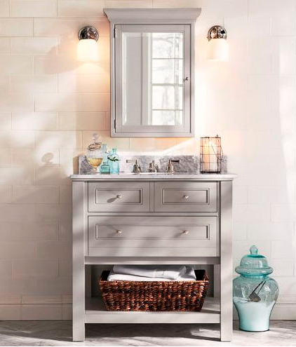 Salle de bain comment choisir les bons miroirs for Salle bain champetre