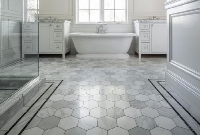 Salle de bain comment choisir le bon carrelage pour les for Carrelage ceramique salle de bain