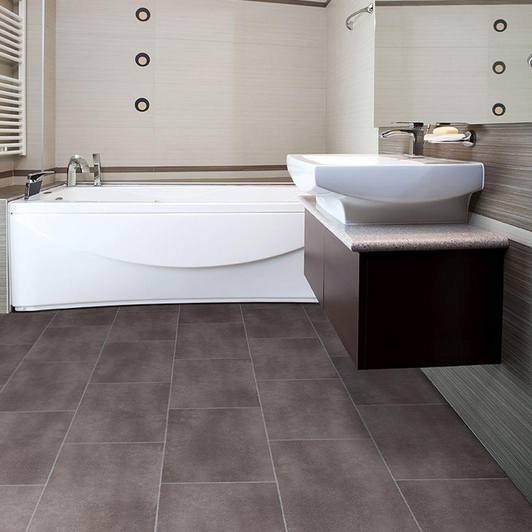 Salle de bain comment choisir le bon carrelage pour les murs et planchers - Vinyle salle de bain ...