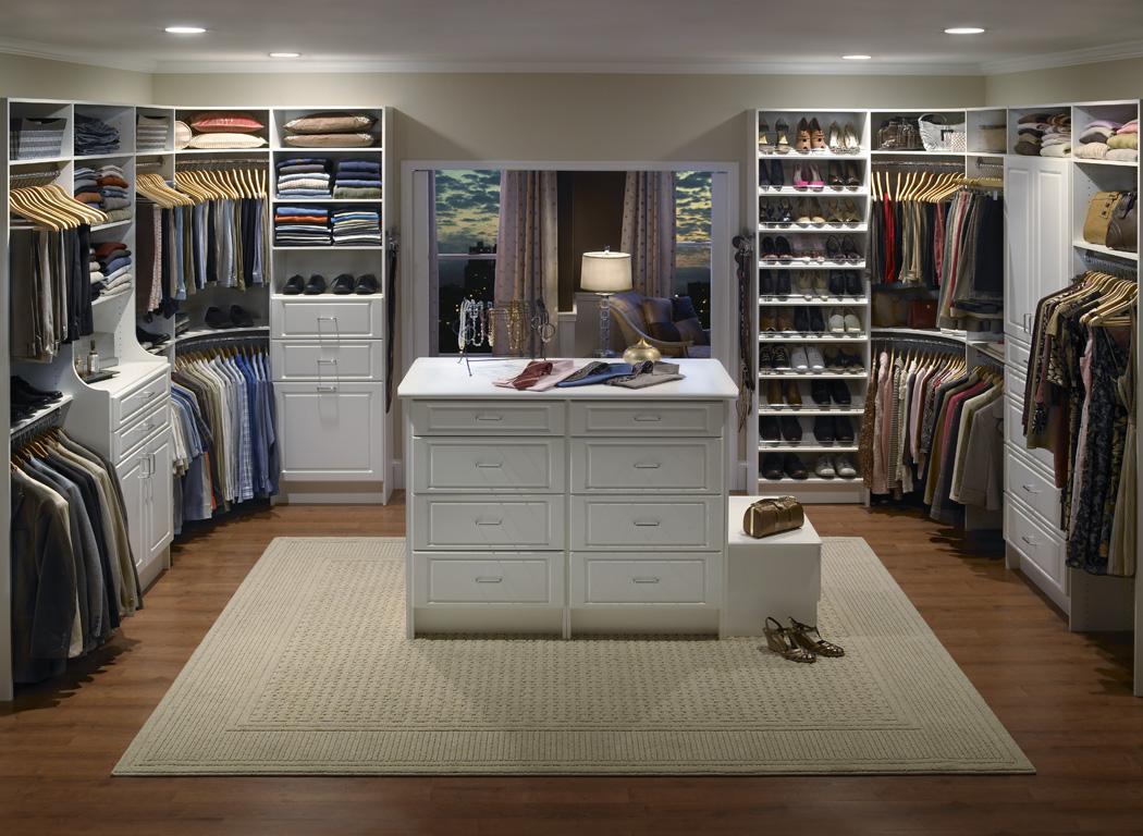 Rangement walk in garde robe unit murale armoire for Rangement maison minimaliste