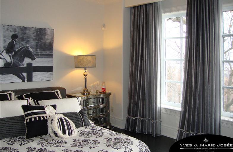 chambre coucher comment choisir votre literie et r ussir votre habillage de fen tres. Black Bedroom Furniture Sets. Home Design Ideas